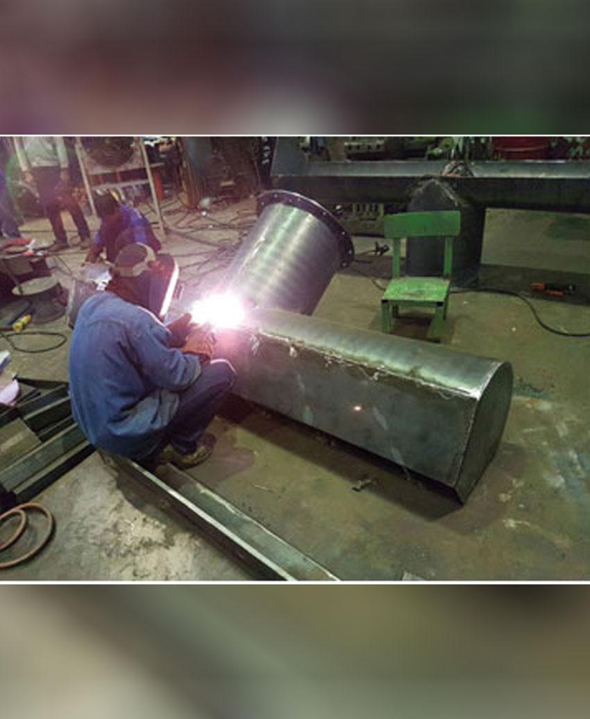 งานสร้างสกรูลำเลียง ใช้ในอุตสาหกรรมปุ๋ย, ซีเมนต์