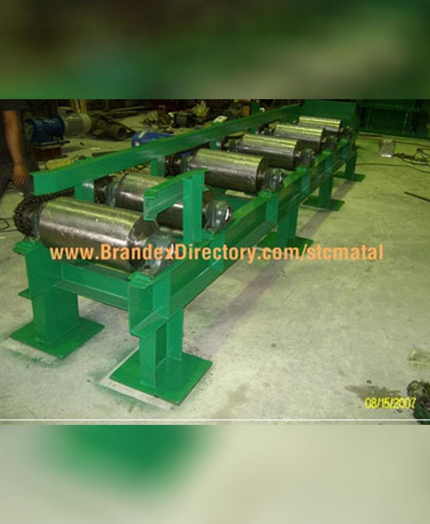 งานสร้าง Conveyor Transfer ใช้ในอุตสาหกรรมโรงรีดเหล็กเส้นก่อสร้าง